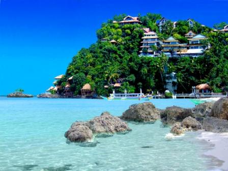 philippines - Beautiful Resort in Boracay Island, Philippines - Philippine Photo Gallery